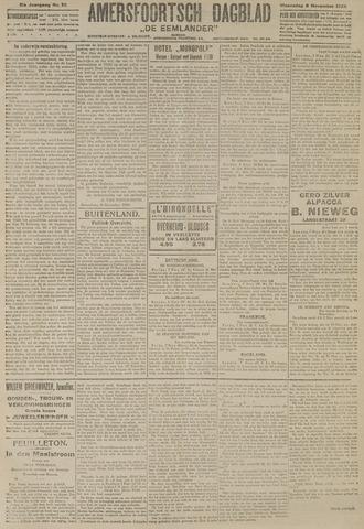 Amersfoortsch Dagblad / De Eemlander 1922-11-08