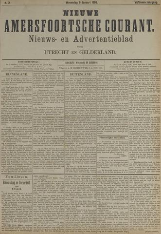 Nieuwe Amersfoortsche Courant 1886-01-06
