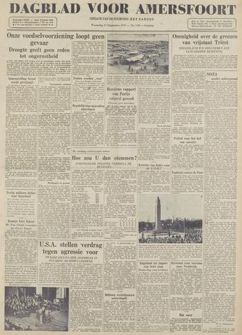Dagblad voor Amersfoort 1947-09-17