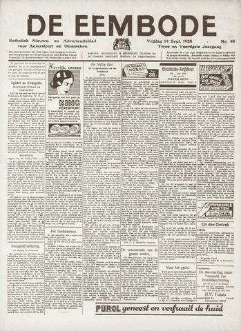 De Eembode 1928-09-14