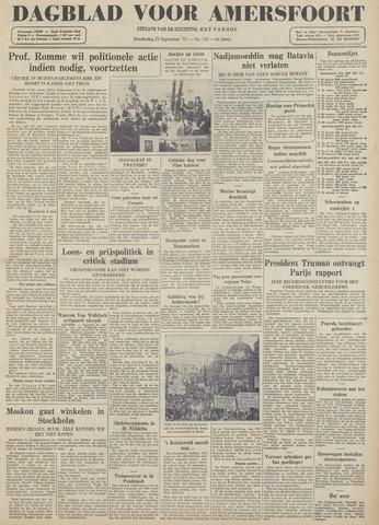 Dagblad voor Amersfoort 1947-09-25