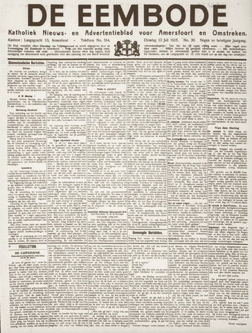 De Eembode 1915-07-13