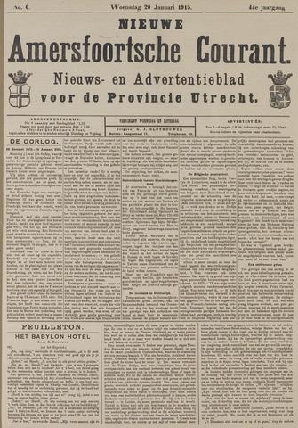 Nieuwe Amersfoortsche Courant 1915-01-20