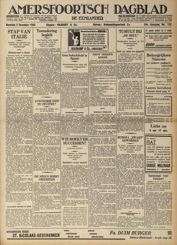 Amersfoortsch Dagblad / De Eemlander 1935-12-02
