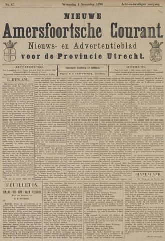 Nieuwe Amersfoortsche Courant 1899-11-01