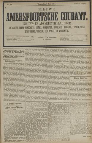 Nieuwe Amersfoortsche Courant 1884-07-02