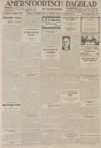 Amersfoortsch Dagblad / De Eemlander 1930-10-21
