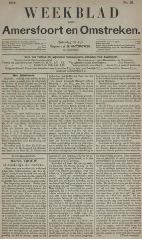 Weekblad voor Amersfoort en Omstreken 1872-07-13