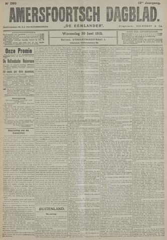 Amersfoortsch Dagblad / De Eemlander 1915-06-30