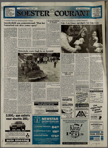 Soester Courant 1991-04-10