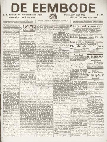 De Eembode 1927-09-20