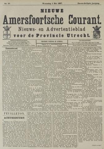 Nieuwe Amersfoortsche Courant 1907-05-01