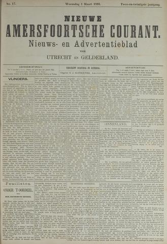 Nieuwe Amersfoortsche Courant 1893-03-01