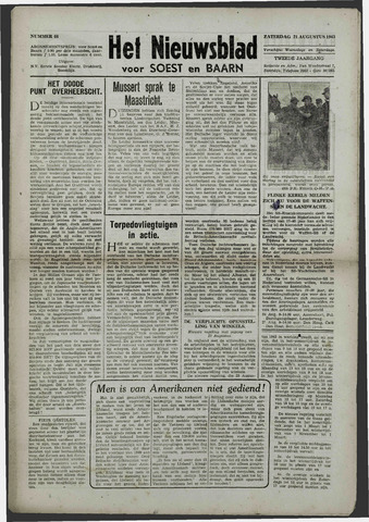 Soester Courant 1943-08-21