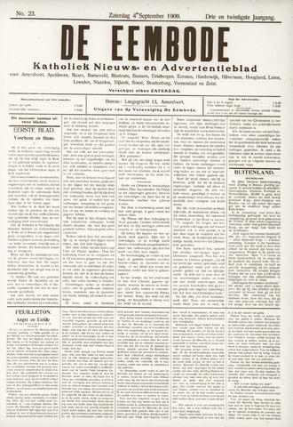 De Eembode 1909-09-04