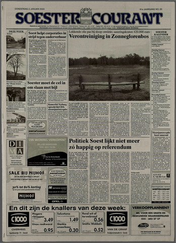 Soester Courant 2003-01-02