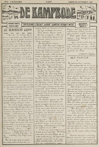 De Kampbode 1916-09-24