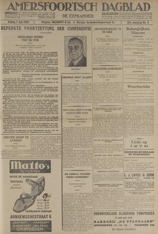 Amersfoortsch Dagblad / De Eemlander 1933-07-07