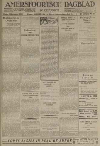 Amersfoortsch Dagblad / De Eemlander 1933-09-12