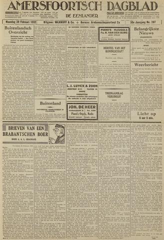 Amersfoortsch Dagblad / De Eemlander 1932-02-29