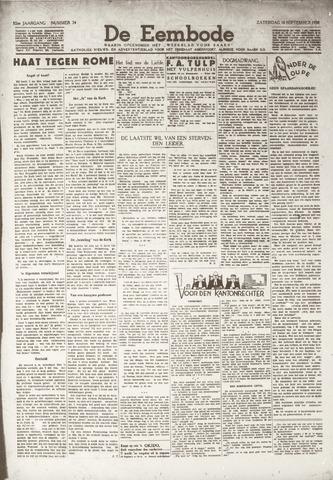 De Eembode 1938-09-10