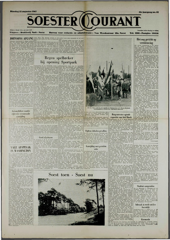Soester Courant 1967-08-22