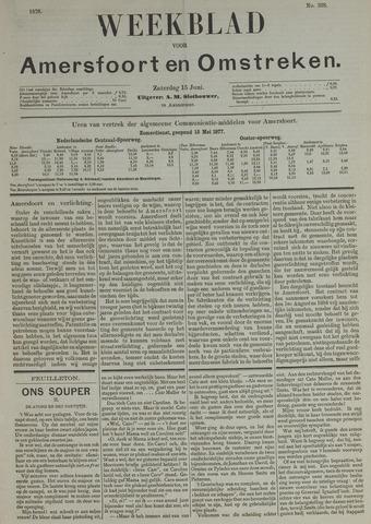 Weekblad voor Amersfoort en Omstreken 1878-06-15