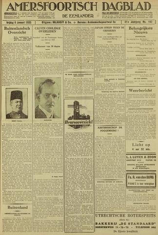 Amersfoortsch Dagblad / De Eemlander 1933-01-06