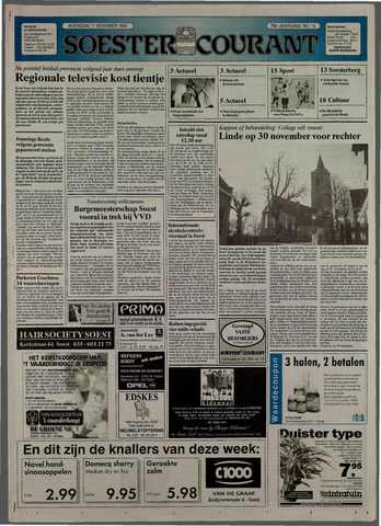 Soester Courant 1999-11-17