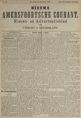 Nieuwe Amersfoortsche Courant 1893-11-29