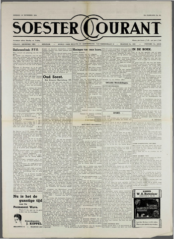 Soester Courant 1954-11-16