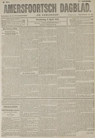 Amersfoortsch Dagblad / De Eemlander 1913-04-09