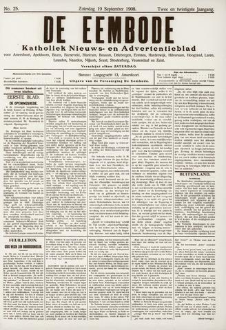 De Eembode 1908-09-19