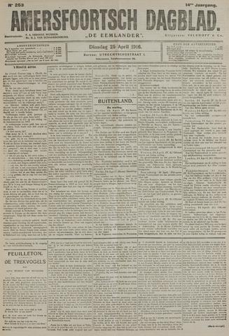 Amersfoortsch Dagblad / De Eemlander 1916-04-25