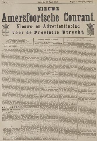 Nieuwe Amersfoortsche Courant 1910-04-16