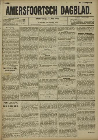 Amersfoortsch Dagblad 1905-05-25