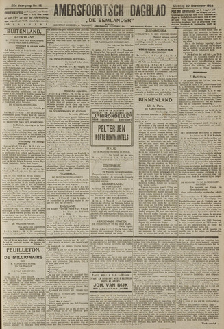 Amersfoortsch Dagblad / De Eemlander 1923-11-20