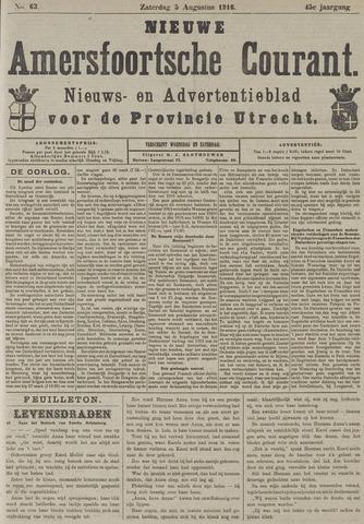 Nieuwe Amersfoortsche Courant 1916-08-05