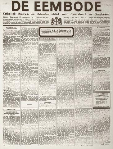 De Eembode 1915-07-23