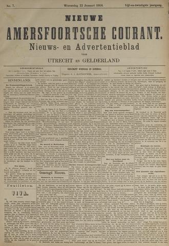 Nieuwe Amersfoortsche Courant 1896-01-22