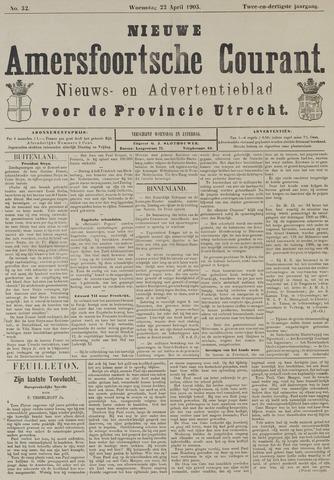 Nieuwe Amersfoortsche Courant 1903-04-22