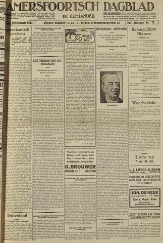 Amersfoortsch Dagblad / De Eemlander 1932-09-20