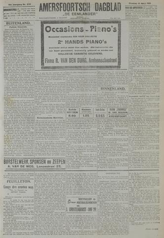 Amersfoortsch Dagblad / De Eemlander 1921-04-12