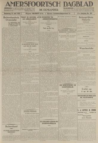 Amersfoortsch Dagblad / De Eemlander 1933-06-22