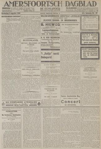 Amersfoortsch Dagblad / De Eemlander 1928-08-09