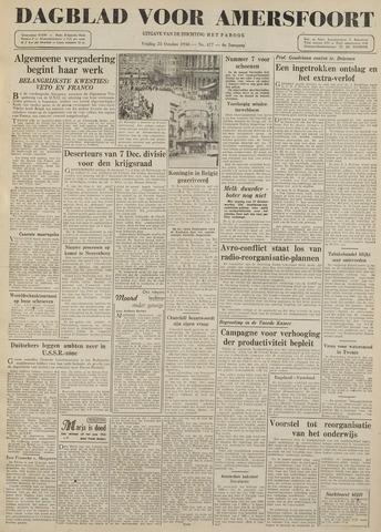 Dagblad voor Amersfoort 1946-10-25
