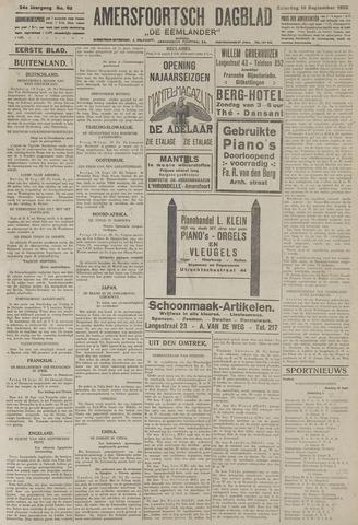 Amersfoortsch Dagblad / De Eemlander 1925-09-19