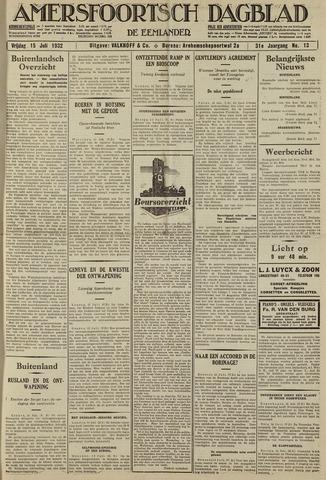 Amersfoortsch Dagblad / De Eemlander 1932-07-15