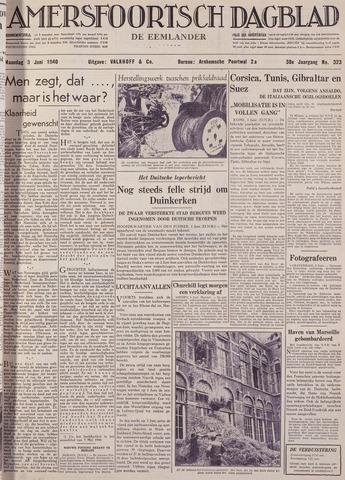Amersfoortsch Dagblad / De Eemlander 1940-06-03