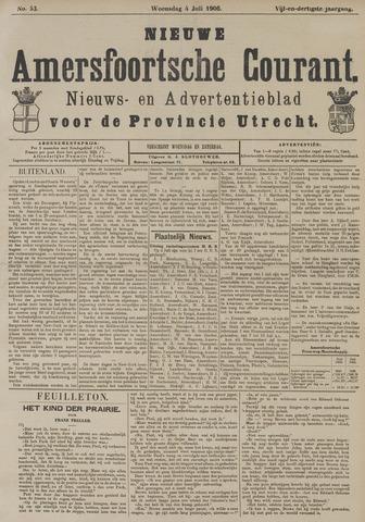 Nieuwe Amersfoortsche Courant 1906-07-04